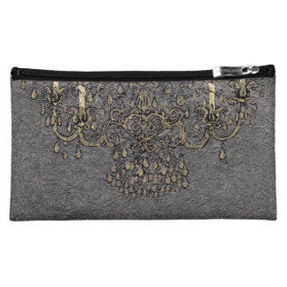 Meet Me Under Chandelier ~ Cosmetic Bag 8x5/2Sides
