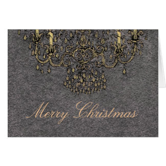 Meet Me Under The Chandelier ~ Christmas Card