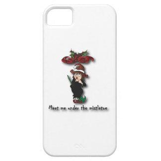Meet me under the mistletoe2 iPhone SE/5/5s case