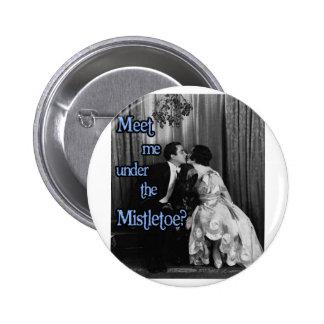 Meet me under the mistletoe button