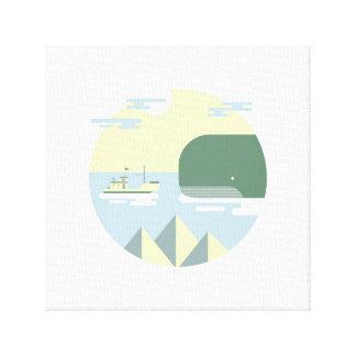 Meet moby canvas print
