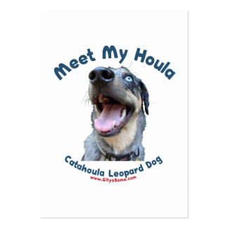 Meet My Catahoula Dog Business Cards