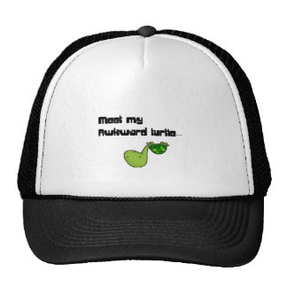 meet my turtle trucker hat