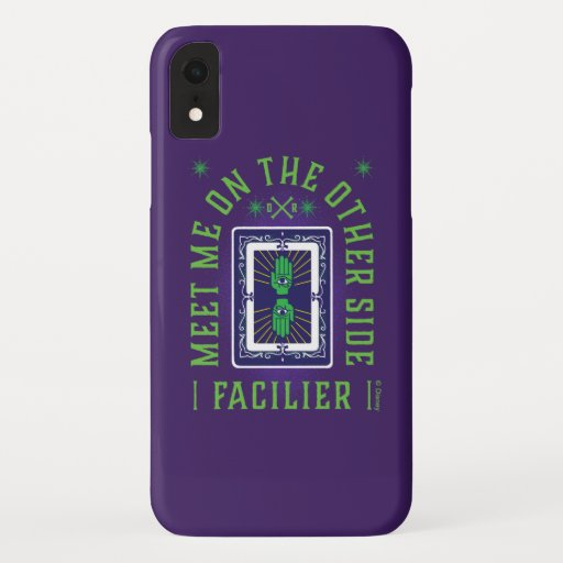 Meet on the Other Side | Facilier iPhone XR Case