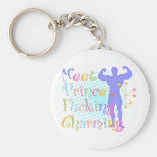Meet Prince Facking Charming Keychain