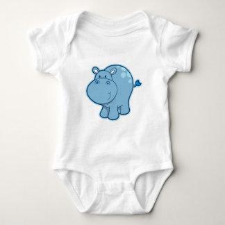 Meet the Blue Hippo! Infant Creeper