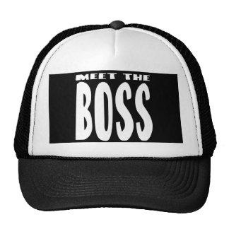 Meet the Boss Trucker Hat