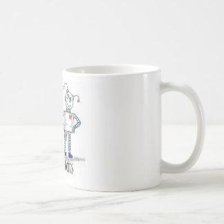 meet the botts classic white coffee mug
