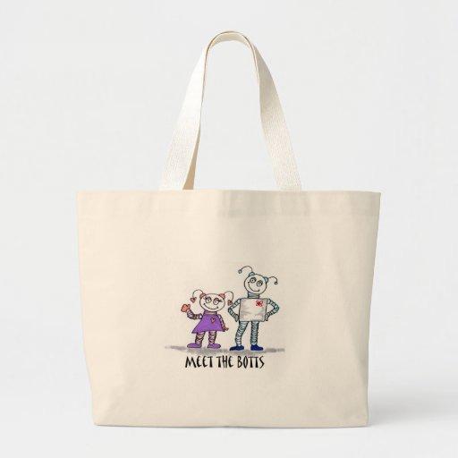 meet the botts tote bag