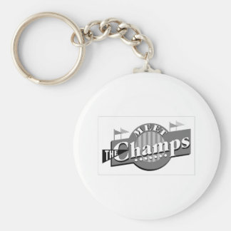 Meet The Champs Keychain