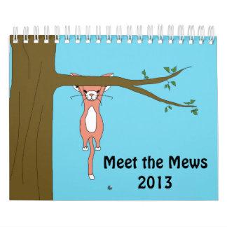 Meet the Mews Calendar 2013