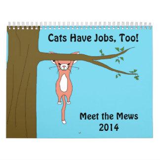 Meet the Mews Calendar 2014