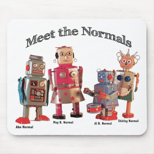 Meet the Normals Mouse Pad