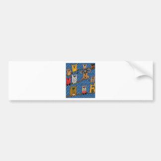 Meet the Owl Family Bumper Sticker