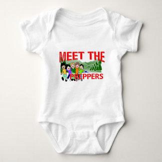 Meet The Preppers Baby Bodysuit