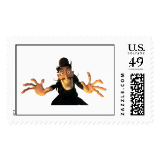 Meet the Robinsons' Bowler Hat Guy Disney Postage