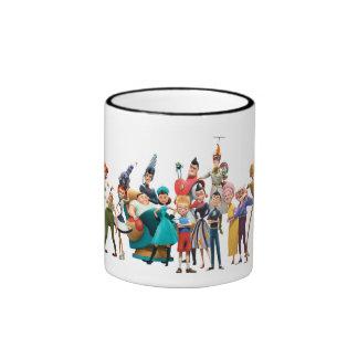 Meet the Robinsons Cast Disney Ringer Mug