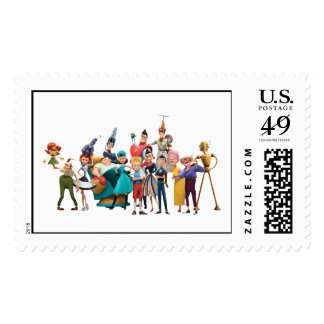 Meet the Robinsons Cast Disney Stamp
