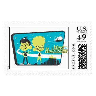 Meet The Robinsons Design Disney Stamp