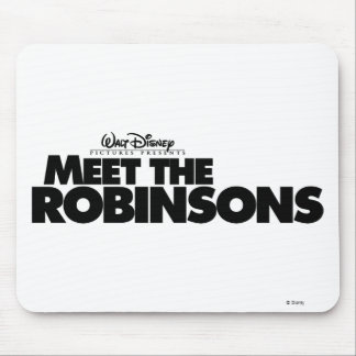 Meet The Robinsons Logo Disney Mouse Pad