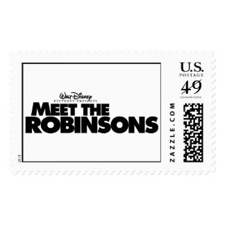 Meet The Robinsons Logo Disney Postage Stamps