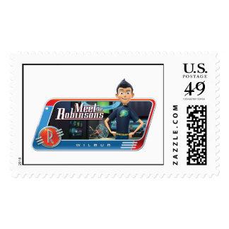 Meet The Robinsons' Wilbur Disney Stamps