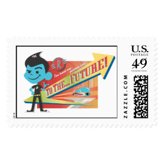 """Meet The Robinsons Wilbur """"To The Future!"""" Disney Stamps"""