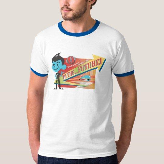 "Meet The Robinsons Wilbur ""To The Future!"" Disney T-Shirt"