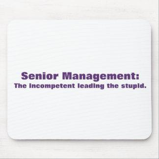 Meet the senior management mouse pad