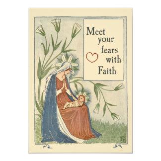 Meet your fears with FAITH Card