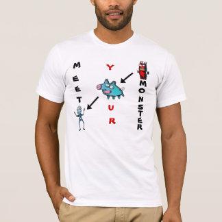 Meet Your Monster - Crossword Puzzle T-Shirt
