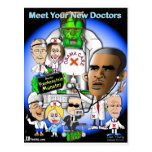 Meet Your New Doctors Postcard