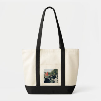 Meeting at the Mur des Federes - Pere Lachaise, 18 Canvas Bag