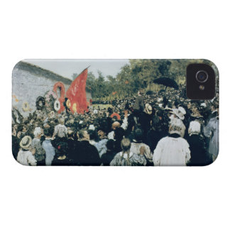 Meeting at the Mur des Federes - Pere Lachaise, 18 Case-Mate iPhone 4 Case
