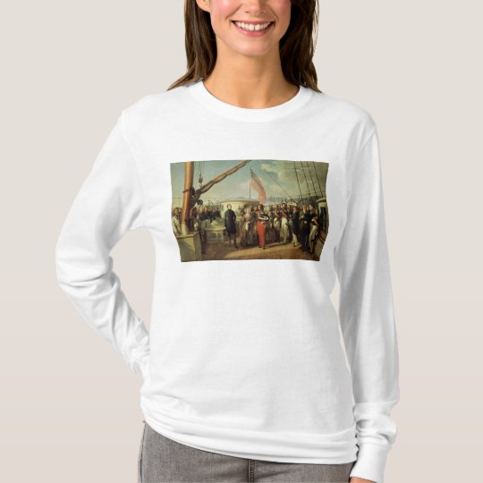 Meeting b/w Louis-Philippe and Queen Victoria T-Shirt