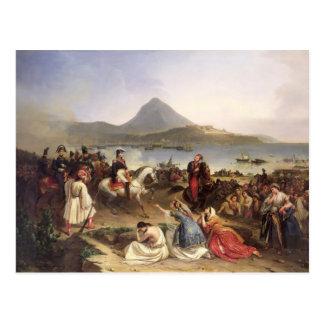 Meeting Between General Nicolas Joseph Maison Postcard