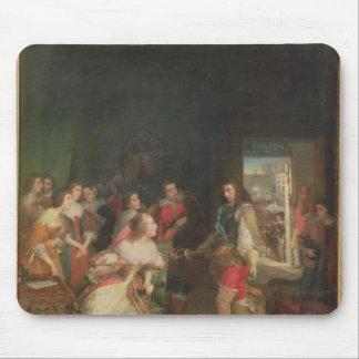 Meeting Between Louis II  de Bourbon Mouse Pad