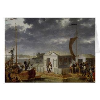 Meeting between Napoleon Bonaparte Card