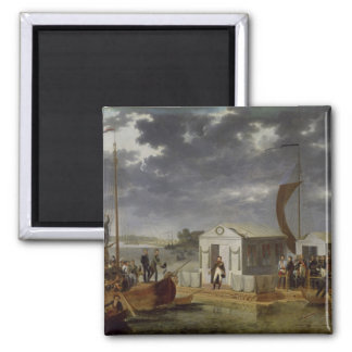 Meeting between Napoleon Bonaparte Magnet