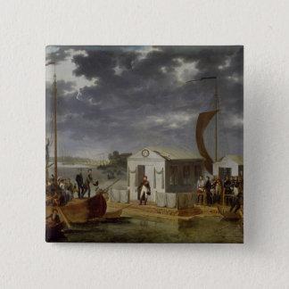 Meeting between Napoleon Bonaparte Pinback Button