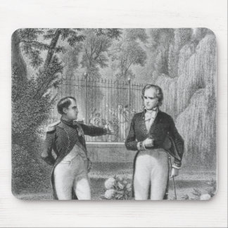 Meeting Between Napoleon I  and Benjamin Mouse Pad