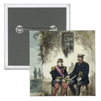 Meeting between Otto von Bismarck and Napoleon Button