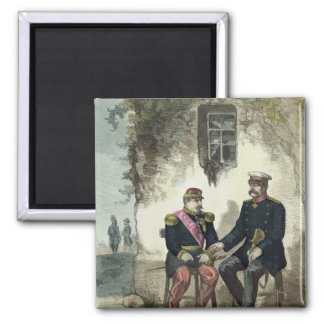 Meeting between Otto von Bismarck and Napoleon Magnet