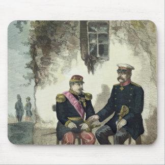 Meeting between Otto von Bismarck and Napoleon Mouse Pad