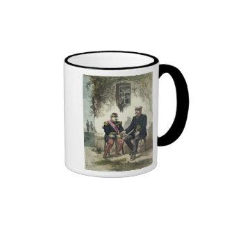 Meeting between Otto von Bismarck and Napoleon Ringer Mug