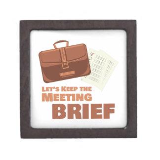 Meeting Brief Gift Box
