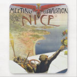 Meeting d'Aviation Nice Mouse Pad