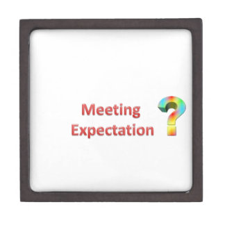 meeting expectation jewelry box