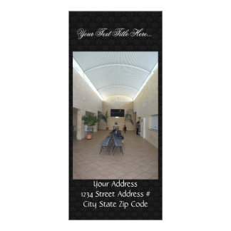 Meeting Hall Foyer At Clarkson In Western Australi Rack Card