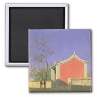 Meeting House of the Solones, Ak-Kent, 1869-70 2 Inch Square Magnet